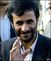 Mahmoud Ahmadinejad on Sunday, 26 June