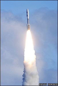New Horizons blasts off from Cape Canaveral on 19 January, Getty Images