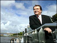 Charlie Gordon on the Clyde