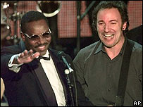 Wilson Pickett and Bruce Springsteen