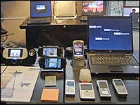Mobiles, laptops and PSP