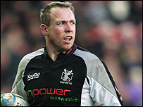 Ospreys captain Barry Williams