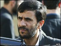 Iranian Mahmoud Ahmadinejad