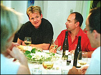 Friends for Dinner, with Gordon Ramsay