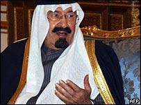 Saudi Arabia's effective ruler, Crown Prince Abdullah