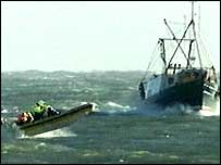 Search boats off Ardglass