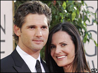 Eric Bana and his wife, Rebecca Gleeson