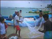 Fishermen in Jaffna
