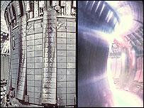 Jet plasma, UKAEA