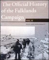 Tapa de 'La Historia Oficial de la Campa�a por las Falklands'