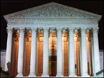 The US Supreme Court has dealt the company behind the Grokster file-sharing network a heavy blow