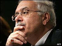 El ex ministro de Transporte, Louay Hatem al Eris