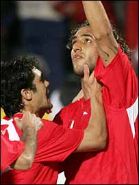 Mido scored the opening goal for Egypt