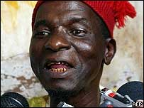 Former Guinea-Bissau President Kumba Yala