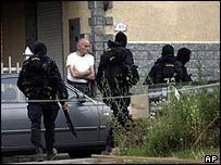 Special police in Bogogno