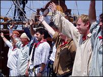 Grand Turk's crew