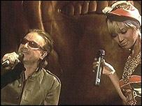 Bono and Beyonce