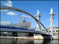 Salford Quays (c) Freefoto