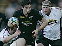 Tom Voyce scored twice for Wasps