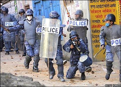 Police in Nepal