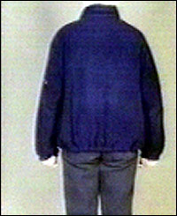 Sion Jenkins' outfit from the back