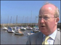 Fisheries Minister Ross Finnie