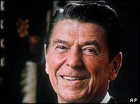 Late US President Ronald Reagan