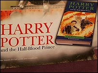 Promotional material for Harry Potter and the Half-Blood Prince