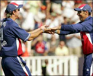 Kevin Pietersen and Marcus Trescothick