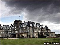 Hotel donde se reunirán los líderes del G8.
