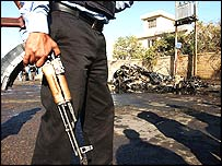 Iraqi policeman