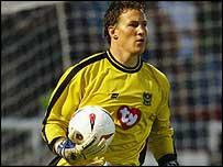 Portsmouth keeper Jamie Ashdown