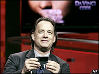 The Da Vinci Code actor Tom Hanks