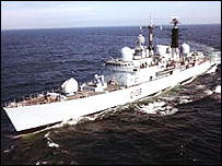 Picture of HMS Cardiff