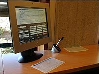 Digital pen and computer screen