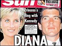 Diana Spencer. Foto: The Sun.