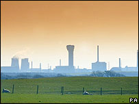 Sellafield nuclear power plant in Cumbria
