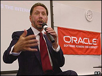 Oracle boss Larry Ellison
