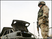 Officer earned £265 per day in Iraq