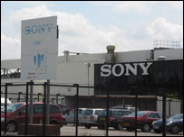 Sony at Bridgend