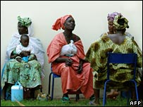 participants at the World Social Forum in Mali
