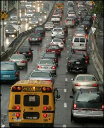 Traffic jam, AP