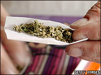 Fabricando un cigarrillo de marihuana