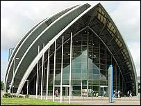 The SECC includes concert, exhibition and conference facilities
