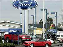 Ford dealership in Kent, Washington state