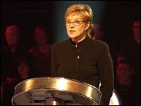 Weakest Link presenter Anne Robinson