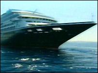 The Minerva II cruise ship