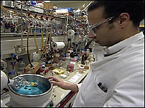 Eisai scientist at work