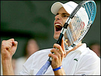 Andy Roddick has to cope with the expectation of the US public