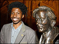 Brian Chikwava, from Zimbabwe, won the fifth Caine Prize for African Writing for Seventh Street Alchemy from Writing Still, Weaver Press, Harare 2003